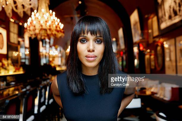 Actress Kerry Washington is photographed for Los Angeles Times on June 16 2016 in New York City PUBLISHED IMAGE CREDIT MUST READ Carolyn Cole/Los...