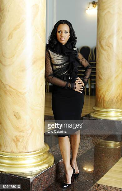 Actress Kerry Washington is photographed for Self Assignment on September 20 2009 in San Sebastian Spain