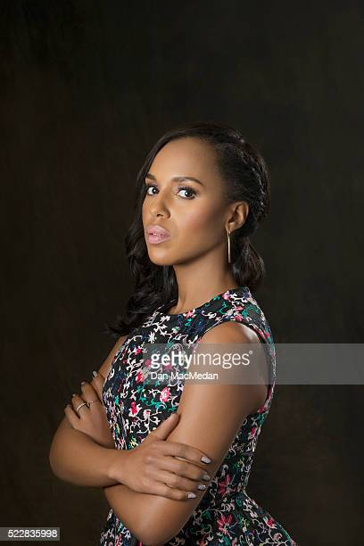 Actress Kerry Washington is photographed for USA Today on April 2 2016 in Los Angeles California PUBLISHED IMAGE