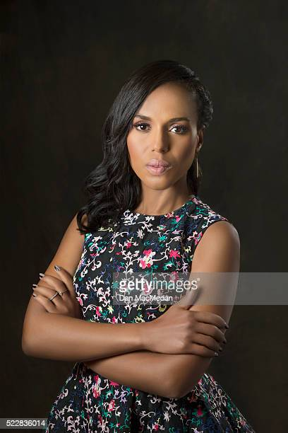 Actress Kerry Washington is photographed for USA Today on April 2 2016 in Los Angeles California