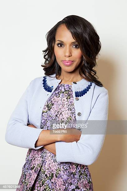Actress Kerry Washington is photographed for USA Today on September 15 2014 in New York City PUBLISHED IMAGE
