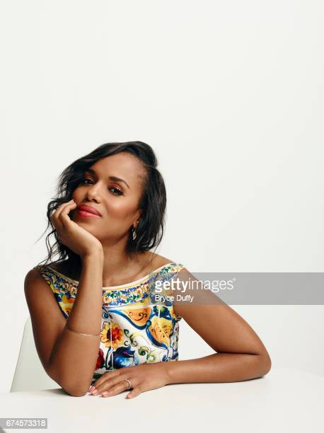 Actress Kerry Washington photographed for Variety on April 3 in Los Angeles California