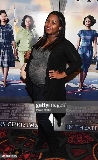 Actress Keshia Knight Pulliam attends Hidden Figures advanced screening hosted by Janelle Monae Pharrell Williams at Regal Cinemas Atlantic Station...