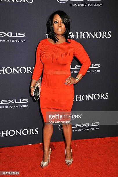 Actress Keshia Knight Pulliam attends The BET Honors 2015 at Warner Theatre on January 24 2015 in Washington DC