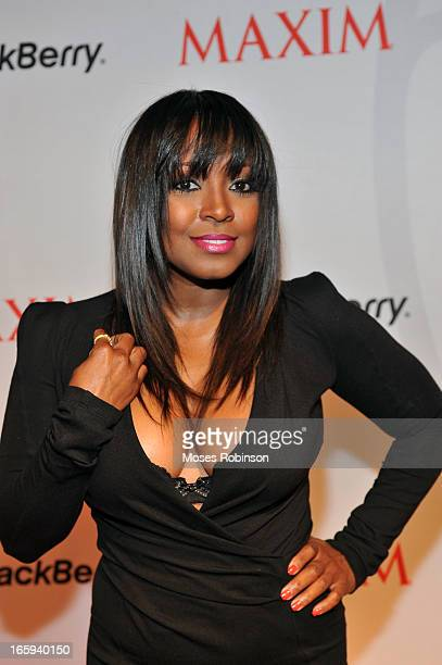 Actress Keshia Knight Pulliam attends the Maxim Blackberry Madness Event on April 6 2013 in Atlanta Georgia