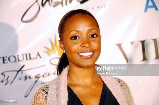 Actress Keshia Knight Pulliam during ARPR Marketing Debuts Atlanta Office at Justin's Restaurant in Atlanta GA United States