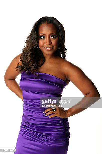 Actress Keshia Knight Pulliam poses for a portrait at the 43rd NAACP Image Awards held at The Shrine Auditorium on February 17 2012 in Los Angeles...
