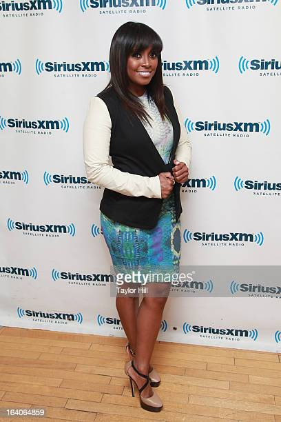 Actress Keshia Knight Pulliam visits SiriusXM Studios on March 19 2013 in New York City
