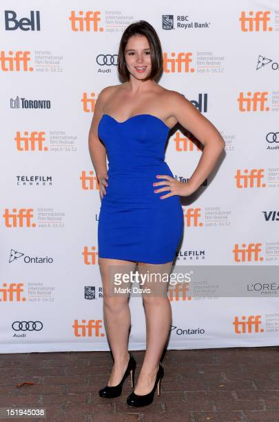 Actress Kether Donahue attends The Bay premiere during the 2012 Toronto International Film Festival at the Ryerson Theatre on September 12 2012 in...