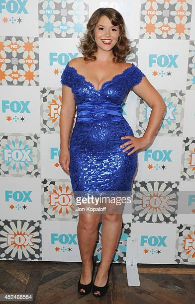 Actress Kether Donohue arrives at the FOX AllStar Party 2014 Television Critics Association Summer Press Tour at Soho House on July 20 2014 in West...
