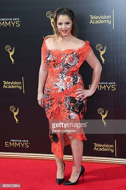 Actress Kether Donohue attends the 2016 Creative Arts Emmy Awards Day 2 at the Microsoft Theater on September 11 2016 in Los Angeles California