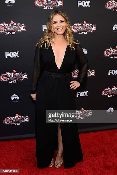 Actress Kether Donohue attends the For Your Consideration event for FOX's 'Grease Live' at Paramount Studios on June 15 2016 in Los Angeles California