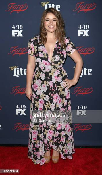 Actress Kether Donohue attends the FX Network 2017 AllStar Upfront at SVA Theater on April 6 2017 in New York City