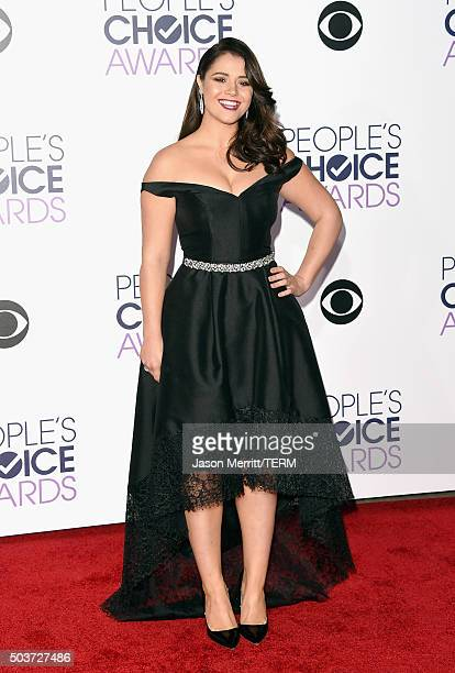 Actress Kether Donohue attends the People's Choice Awards 2016 at Microsoft Theater on January 6 2016 in Los Angeles California
