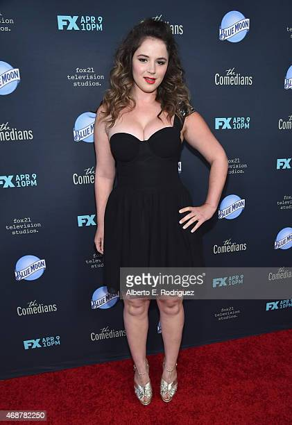 Actress Kether Donohue attends the premiere of FX's 'The Comedians' at The Broad Stage on April 6 2015 in Santa Monica California
