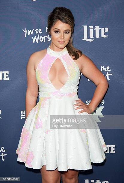Actress Kether Donohue attends the premiere of FXX's The League Final Season and You're The Worst 2nd Season at Regency Bruin Theater on September 8...