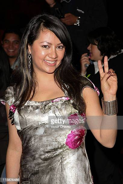 Actress Keyla Wood attends the 2009 Ariel 51 awards at Auditorio Nacional on March 31 2009 in Mexico City Mexico