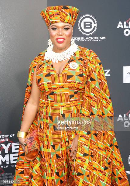Actress Khadija Copeland attends the premiere of Lionsgate's 'All Eyez On Me' on June 14 2017 in Los Angeles California