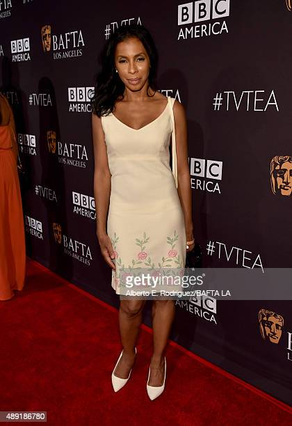 Actress Khandi Alexander attends the 2015 BAFTA Los Angeles TV Tea at SLS Hotel on September 19 2015 in Beverly Hills California