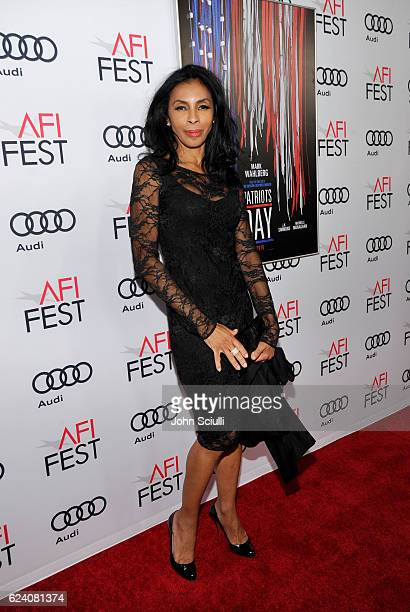 Actress Khandi Alexander attends the AFI Closing Night Screening of Patriots Day at TCL Chinese Theatre on November 17 2016 in Hollywood California