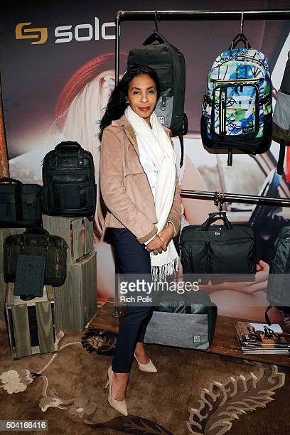 Actress Khandi Alexander attends the HBO Luxury Lounge at the Four Seasons Hotel Los Angeles at Beverly Hills on January 9 2016 in Los Angeles...