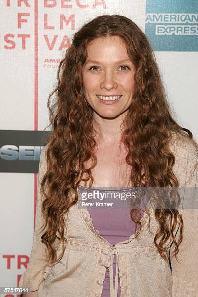 """Actress Khrystyne Haje attends the """"Poseidon"""" premiere at the Tribeca Performing Arts Center May 6, 2006 in New York City."""