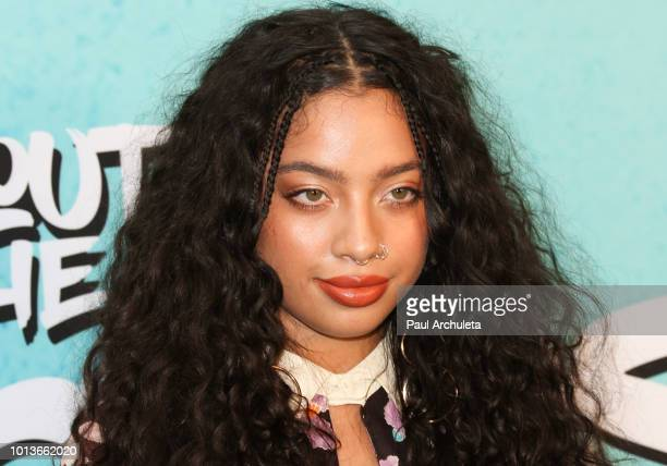 Actress Kiana Lede' attends the screening of Netflix's 'All About The Washingtons' at Madera Kitchen Bar on August 8 2018 in Hollywood California