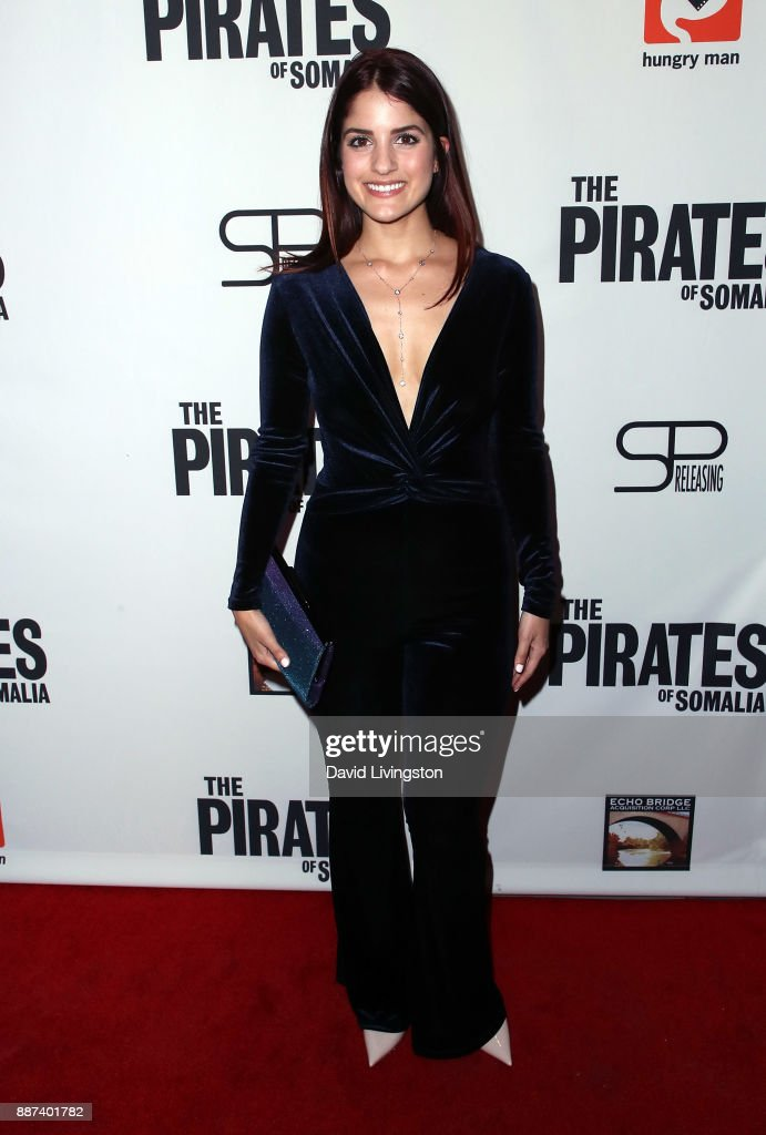 Actress Kiana Madani attends the premiere of Front Row Filmed Entertainment's 'The Pirates of Somalia' at TCL Chinese 6 Theatres on December 6, 2017 in Hollywood, California.