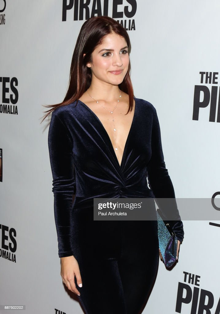 Actress Kiana Madani attends the premiere of 'The Pirates Of Somalia' at The TCL Chinese 6 Theatres on December 6, 2017 in Hollywood, California.