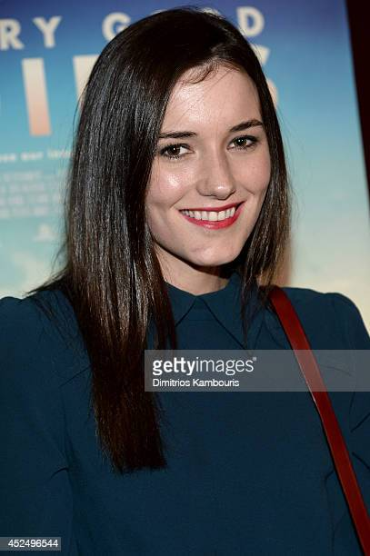 Actress Kick Kennedy attends the Very Good Girls premiere at the Tribeca Grand Hotel on July 21 2014 in New York City