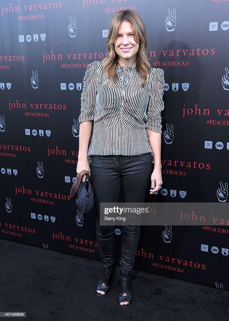 Actress Kiele Sanchez attends the International Peace Day celebration at John Varvatos on September 21, 2014 in Los Angeles, California.