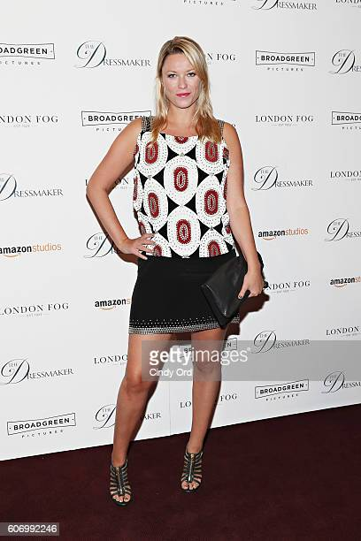 Actress Kiera Chaplin attends as London Fog presents a New York special screening of 'The Dressmaker' on September 16 2016 in New York City