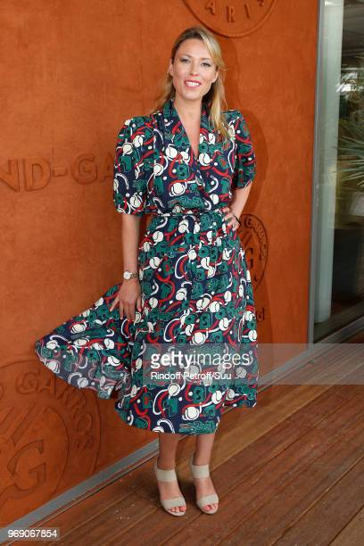 Actress Kiera Chaplin attends the 2018 French Open - Day Twelve at Roland Garros on June 7, 2018 in Paris, France.