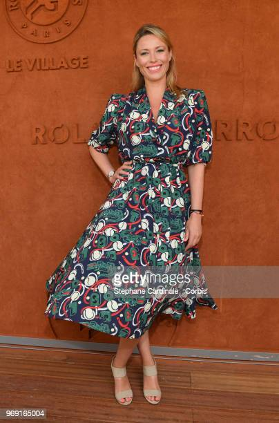 Actress Kiera Chaplin attends the 2018 French Open Day Twelve at Roland Garros on June 7 2018 in Paris France
