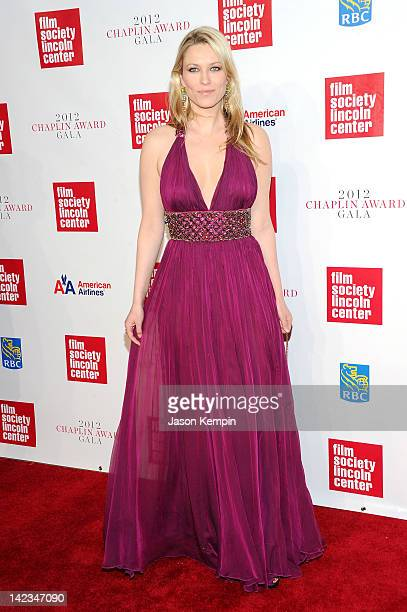 Actress Kiera Chaplin attends the 39th Annual Chaplin Award gala at Alice Tully Hall on April 2 2012 in New York City