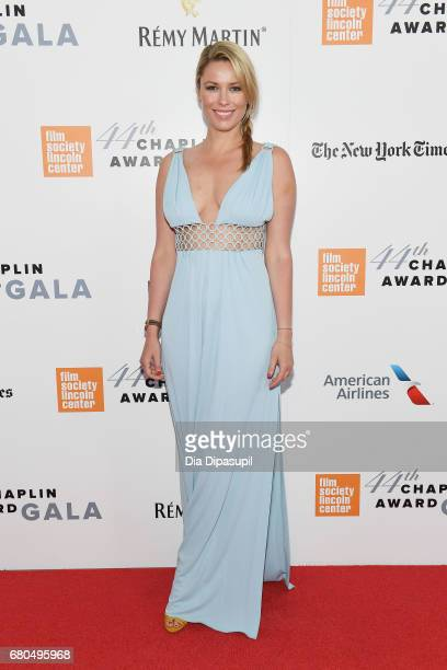 Actress Kiera Chaplin attends the 44th Chaplin Award Gala at David H Koch Theater at Lincoln Center on May 8 2017 in New York City