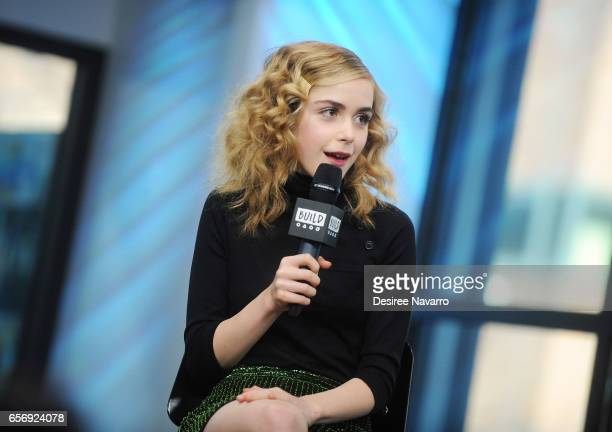 Actress Kiernan Shipka attends Build Series to discuss 'The Blackcoat's Daughter' at Build Studio on March 23 2017 in New York City