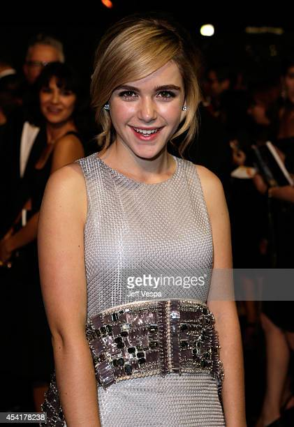 Actress Kiernan Shipka attends the 66th Annual Primetime Emmy Awards Governors Ball held at Los Angeles Convention Center on August 25 2014 in Los...