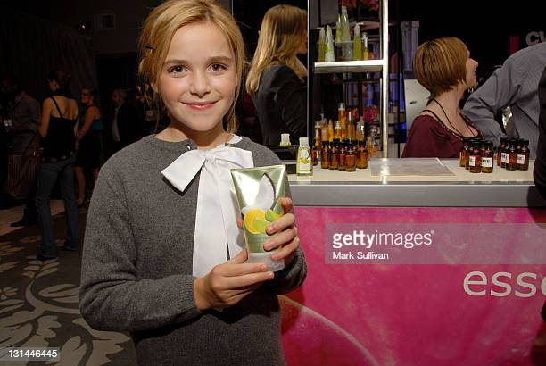 Actress Kiernan Shipka attends the CVS Pharmacy Beauty Club at the Access Hollywood Stuff You Must Lounge produced by On 3 Productions at the Sofitel...