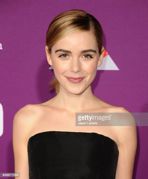 Actress Kiernan Shipka attends the premiere of Feud Bette and Joan at TCL Chinese Theatre on March 1 2017 in Hollywood California