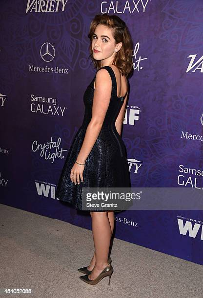 Actress Kiernan Shipka attends Variety and Women in Film Annual PreEmmy Celebration at Gracias Madre on August 23 2014 in West Hollywood California