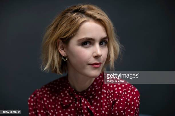 Actress Kiernan Shipka is photographed for Los Angeles Times on October 15 2018 in New York City PUBLISHED IMAGE CREDIT MUST READ Marcus Yam/Los...