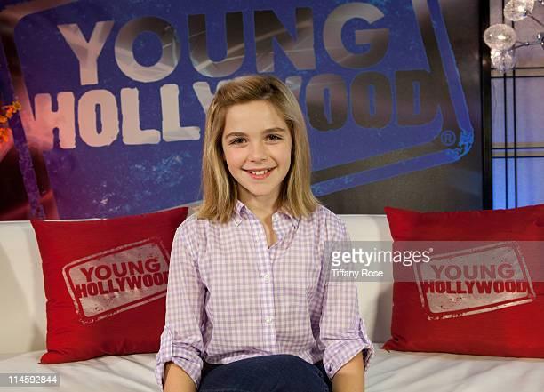 Actress Kiernan Shipka visits YoungHollywoodcom at Young Hollywood Studio on May 24 2011 in Los Angeles California