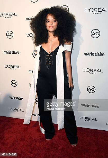 Actress Kiersey Clemons attends Marie Claire's Image Maker Awards 2017 at Catch LA on January 10 2017 in West Hollywood California