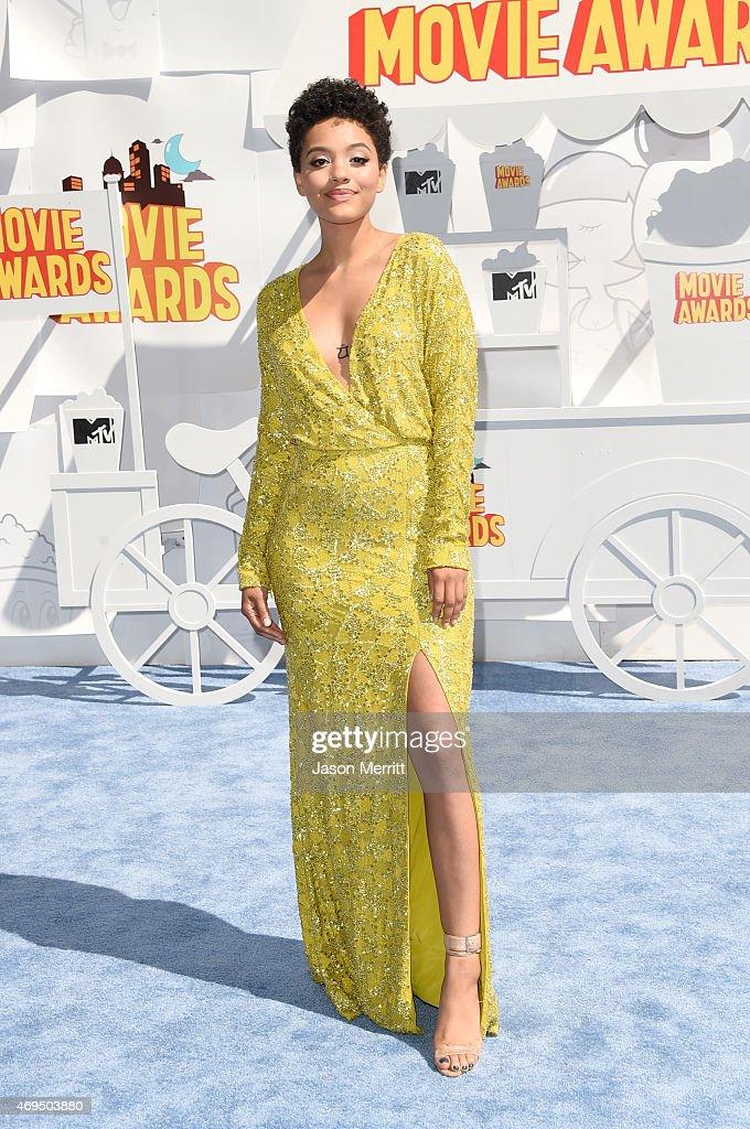 The 2015 MTV Movie Awards - Arrivals : News Photo