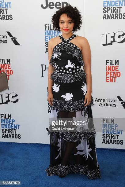 Actress Kiersey Clemons attends the 2017 Film Independent Spirit Awards on February 25 2017 in Santa Monica California