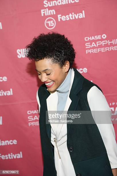 """Actress Kiersey Clemons attends the """"Dope"""" premiere at the 2015 Sundance Film Festival"""