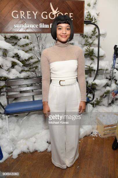 Actress Kiersey Clemons attends the Hearts Beat Loud afterparty at the Grey Goose Blue Door during Sundance Film Festival on January 18 2018 in Park...
