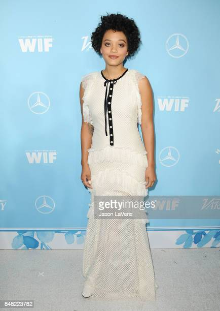 Actress Kiersey Clemons attends Variety and Women In Film's 2017 preEmmy celebration at Gracias Madre on September 15 2017 in West Hollywood...
