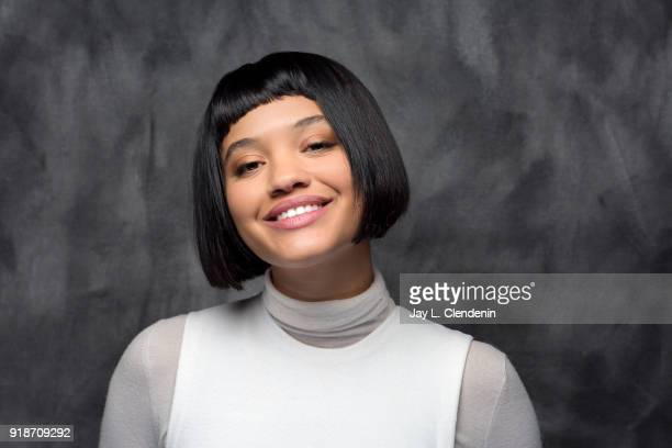 Actress Kiersey Clemons from the film 'Hearts Beat Loud' is photographed for Los Angeles Times on January 19 2018 in the LA Times Studio at Chase...